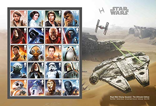 Star Wars Stamp Souvenir Ultimate Edition ,A4