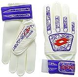 Lotto Glove Lzg 800 - Guantes de fútbol para Hombre, Color Blanco/Rojo, Talla 11