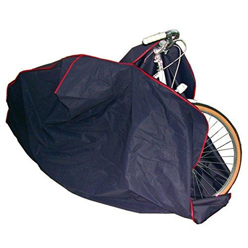 MSV Bikes Funda para Bicicleta, Gris, 22x2x31.5 cm