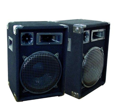 OMNITRONIC 1200 Watt Paar 3-Wege PA Boxen Lautsprecher DJ Disco Party DX-1222