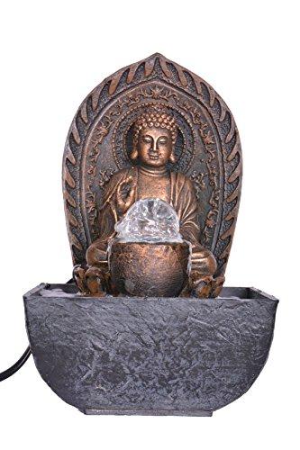 Khussa Buda Agua Fuente de Interior con luz led KHFO-48