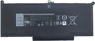 7XINbox 7.6V 60Wh 7500mAh F3YGT Repuesto Batería para Dell Latitude 7280 Latitude 7480 DM3WC 0DM3WC 2X39G