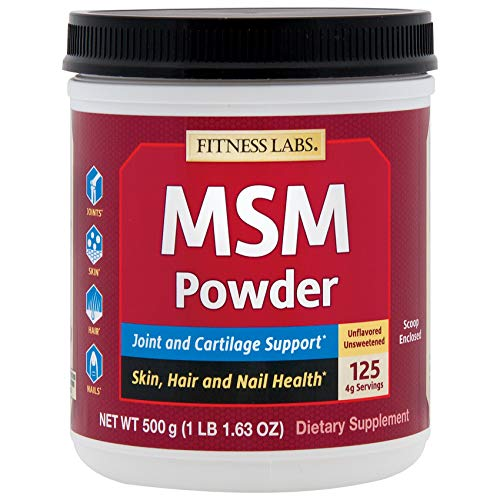 Fitness Labs MSM Powder, 500 Grams by FITNESS LABS