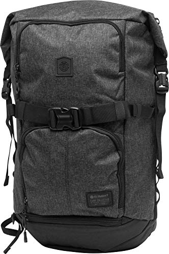 Element The Weekender Rucksack - Black Grid Htr - One Size