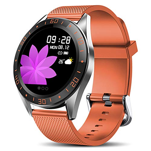 Taurusb Smart-Uhren, Smart-Uhr-Mann-LED-Bildschirm-Puls-Monitor Blutdruck Fitness Tracker Sport Armbanduhr Wasserdicht Smartwatch,A3