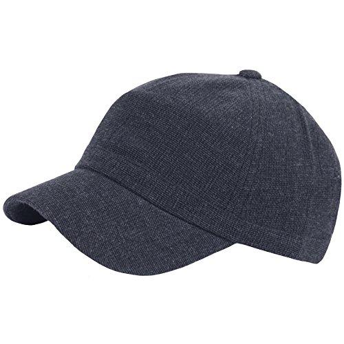 RaOn B382 Ball Cap Plain Empty Short Bill Design Baseball Hat Truckers (Darkgray)
