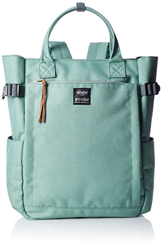 Anello backpack canvas 10 pocket 2WAY backpack AT-C1225 (Mint Green)
