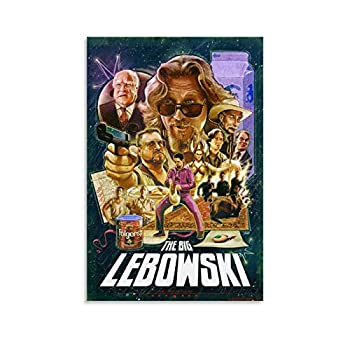 SADAS Movie Poster The Big Lebowski  1998  Posters Canvas Art Poster and Wall Art Picture Print Modern Family Bedroom Decor Posters 24x36inch 60x90cm