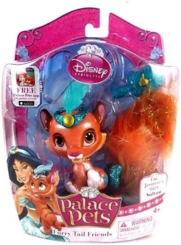 Disney Princess Palace Pets, Furry Tail Friends Doll, Jasmine's Tiger Sultan by Disney Princess