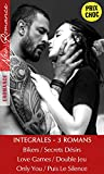 3 ROMANCES PRIX CHOC - New Romance - Bikers / Secrets Désirs - Love Games / Double Jeu - Only You / Puis Le Silence: [3 livres new romance en Promo]
