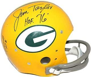 Jim Taylor Paul Hornung & Boyd Dowler Autographed Packers TK Helmet w 22292 - JSA Certified - Autographed NFL Helmets
