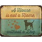 Nostalgic-Art 26220 PfotenSchild - A House is not a Home,