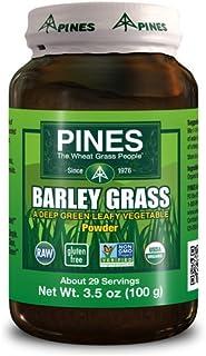 Pines Wheat Grass 100% Barley Grass Powder - 3.5 Oz, 6 pack