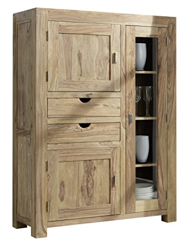 YOGA 6403 Highboard, Holz, 43 x 110 x 150 cm, natur