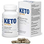 KETO ACTIVES Premium - The Best Diet Supplement for Weight Control, 100% Natural Ingredients, Enormous Fat Burning, removes Body Fat on The Waist, Hips and Legs, 60 Capsules