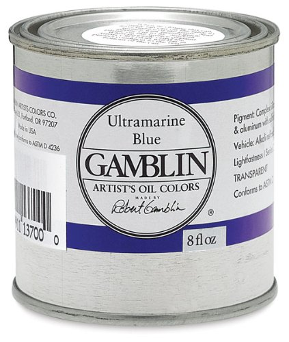 Artist Gamblin - pintura al óleo - 235 ml - Titan de colour blanco