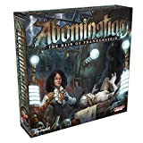 2-4 Players, 90-180 Minutes, Ages 13 years + Abomination: The Heir of Frankenstein is a game of competitive monster creation. Race to construct a viable living being to satisfy the mad obsession of your benefactor. Visit locations across Paris to gai...