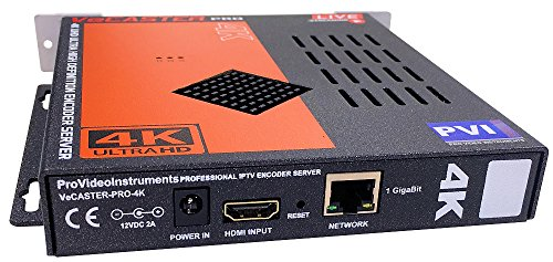 Lowest Prices! VECASTER 4K - 4K UHD HDMI IPTV Encoder for professional 4K Video Distribution to Smar...