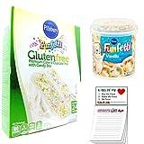 Pillsbury Gluten Free Funfetti Cake Mix | Confetti Vanilla Frosting | Snack Fun Magnetic Shopping...