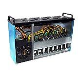 DBG M08 Eth Eth Mining RIG Case, Cryptocurrency Ethereum Miner 8 GPU Mining Mining Machine 3865