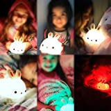 Zoom IMG-2 luce notturna bambini coniglio lampada