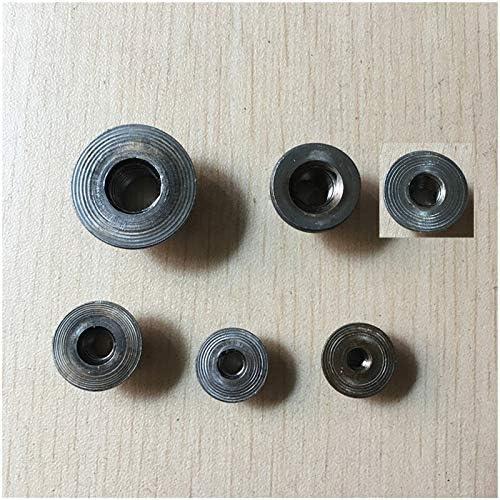 Size : M8X10 YJZG Carbon Steel Round Head Nuts,M4 M5 M6 M8 M10,100Pcs