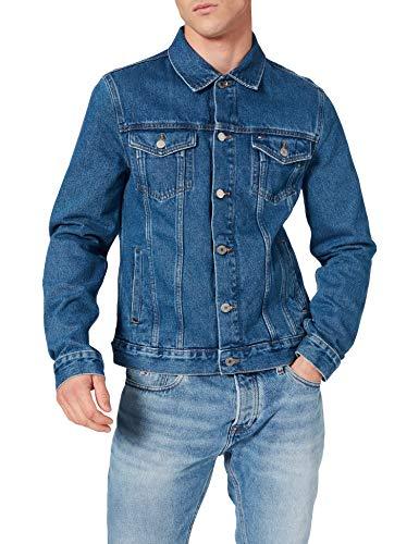 Tommy Hilfiger Trucker JKT RGD Portland Indigo Chaqueta, S para Hombre