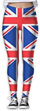 GIAHSO Running Workout Leggings with Designs - British Flag Prints for Dkhh Storefront