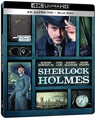 Sherlock Holmes [Édition Limitée SteelBook 4K Ultra HD + Blu-Ray]