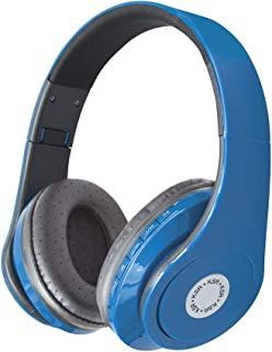 Kaiser Audífonos KSR Bluetooth y Micro SD Azules