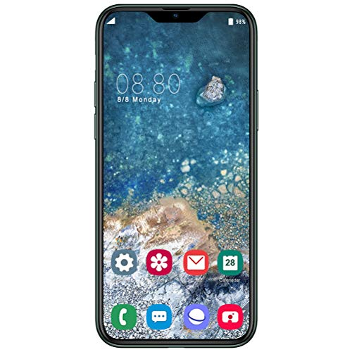 ZXYSR Smartphone Ohne Vertrag,I12pro Dual SIM Android Handy 6,5 Zoll FHD+4800Mah Akku 64GB ROM+ 4GB RAM 13MP + 24MP Pixel Simlockfreie Handys, Handy,Grün