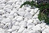 Piedras Pequeñas Para Pintar y Piedra Blanca Jardin Piedras Decorativas Jardin Decoracion Grava Jardin Barata de mármol ornamental decoración de jardín piedras acuario decoración