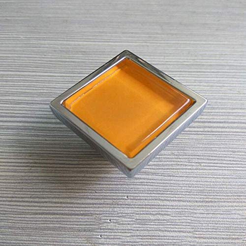 ZTMN Zink-Legering kabinet handvat 5 stks Crystal deurgrepen 30 mm kast lade dressoir en deur kabinet knoppen handgrepen voor huis en kantoor voor kasten kast meubeldeur (kleur: groen, grootte