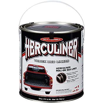 Herculiner Truck Bed Liner Black 1 Gallon