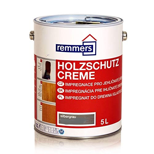 Remmers Holzschutz-Creme - silbergrau 5L