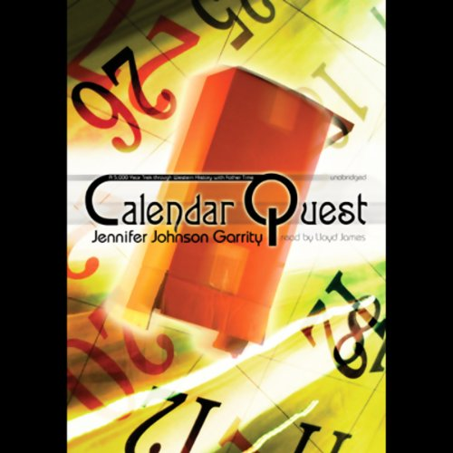 Calendar Quest audiobook cover art