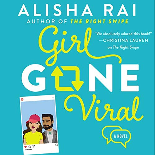 Girl Gone Viral audiobook cover art