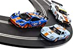 Scalextric ROFGO Gulf Heritage Triple Pack Legend's Collection 1:32 Limited Edition Box Slot Car Set C4109A