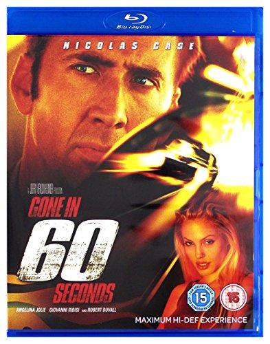 Gone in Sixty Seconds [Blu-Ray] [Region Free] (English audio. English subtitles)