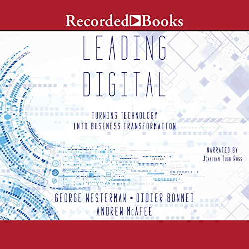 Leading Digital audiobook cover art