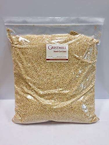Homestead Gristmill — Non-GMO, Chemical-Free, All-Natural Steel-Cut Oats (10 lb)