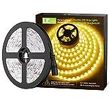 LE 12V LED Strip Light, Flexible, SMD 2835, 16.4ft Tape Light for Home, Kitchen, Party, Christm…