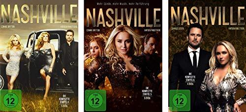 Nashville - Staffel 4-6 im Set - Deutsche Originalware [14 DVDs]