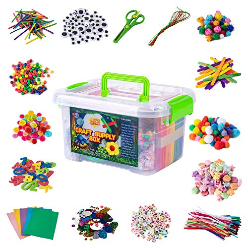 Jumbo Arts & Crafts Kit Box - 2,...