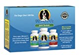 Winston's Joint System - for Large Dogs Over 100 Pounds - 100% Natural Whole Food Supplement System for Arthritis, Hip Dysplasia and Joint + Pain Relief - One Month Supply - Since 1992