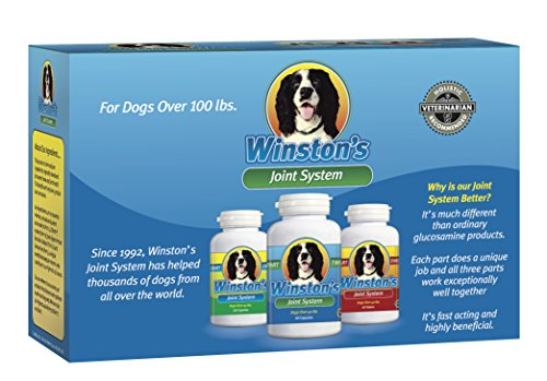 Winston's Joint System - for Large Dogs Over 100 Pounds - 100%...