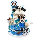 MomsStory – Tarta de pañales, regalo de bebé para nacimiento, bautismo, 2...