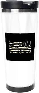 サーモスカップ - USSマイケルマーフィー - 水筒 コーヒーカップ 直飲み 444ML 保熱 真空断熱