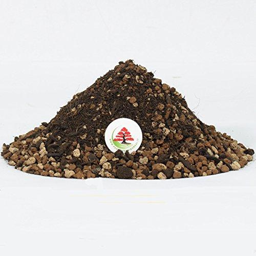 Pagineverdibonsai TERRICCIO Pronto per Bonsai con Akadama, Pomice e Zeolite - LT. 5 x 2