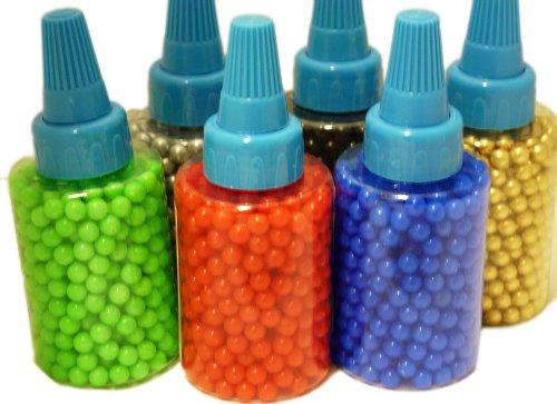 Softair 500 Kugeln versch Farben (Silber)
